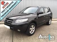 HYUNDAI SANTA 4x4 FE 2.2 GSI CRTD 5-Door Black Manual Diesel, 2009