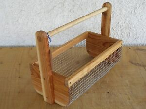 Cedar Veggie Baskets