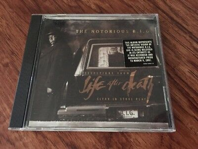Rare Clean In Store Play Promo The Notorious B I G  Life After Death Cd 1997