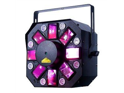 Stinger Laser (ADJ Stinger II American DJ 3in1 Effekt Moonflower, Strobe und RG Laser)
