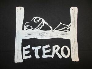 Hetero Tee Shirt - Fun, Provocative