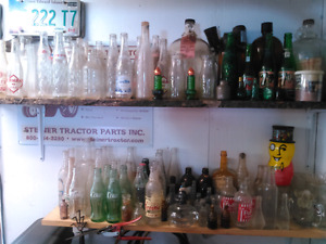 Bottle collection for sale