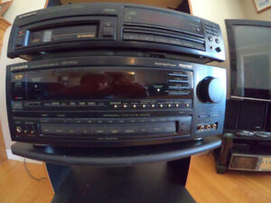Pioneer Surround Receiver and Matching 6 Pack CD Player.