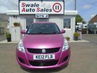 2012 SUZUKI SWIFT 1.2 SZ3 - 32,078 MILES - SERVICE HISTORY - LOW MILES - £30 TAX