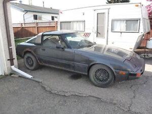 1984 Mazda RX7 GSL-SE Targa fuel injected 13B
