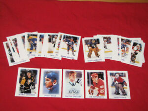 1988-89 O-Pee-Chee mini card set -- 45 of 46 cards, no checklist