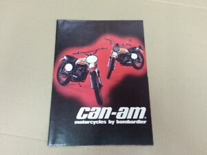 1973 Can Am MX 1 125 175 125 175 T NT brochure mint