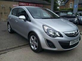 VAUXHALL CORSA SXI AC 2014 Petrol Manual in Silver