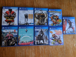 PS4 Games (Sold Individually)
