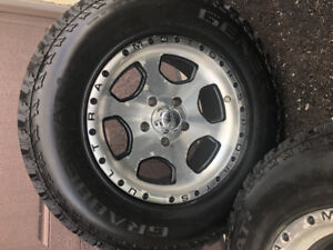 General Grabber AT Tires and Rims