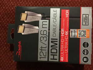 Rocketfish 4K Ultra and HDR HDMI cable