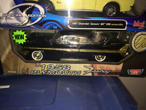 Plymouth fury 1958 neuf diecast 1/18 die cast