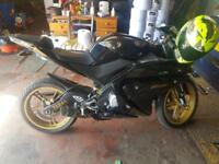 2011 YAMAHA YZF 125CC 12 MTHS MOT TOTAL ENGINE REPLACED 2017