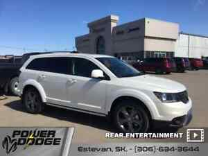 2017 Dodge Journey Crossroad - Leather Seats - $240.75 B/W