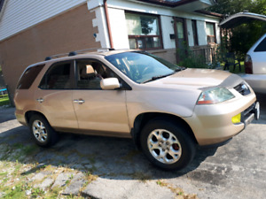 2002 ACURA MDX FULLY LOADED with REMOTE STARTER AND HID LIGHTS