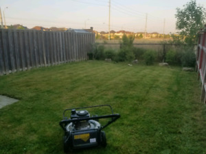 GRASS CUTTING LAWN MOWING ANY SIZE LOT ONLY $40!