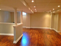 Spacious basement apartment for rent in Vaughan