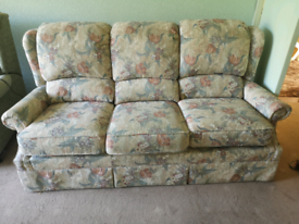 G plan sofa and chairs