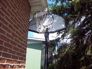 panier basketball huffy sport ajustable + filet et un support a