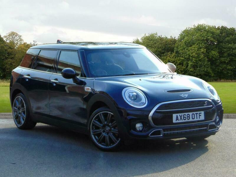 2018 Mini Clubman Clubman Cooper S Exclusive Petrol Blue