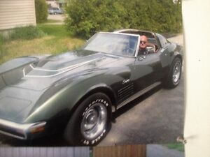 72  corvette  very clean condition