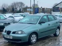 * 54 2005 SEAT IBIZA 1.4L 5 DOOR + IDEAL FIRST CAR + LONG MOT + CLICK & COLLECT