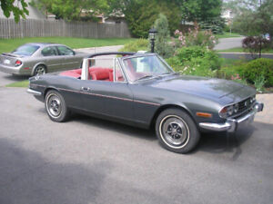 Very Rare 1971 Triumph Stag V8 (Private import from Europe)