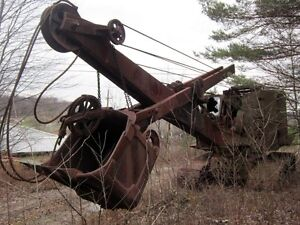 Lookin for small Drag line Or cable shovel