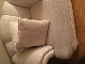 3 pieces.  Couch, loveseat and single