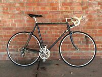 VINTAGE LIGHTWEIGHT ROAD RACING BIKE REYNOLDS 531 FRAME 105 CAMPAGNOLO MAVIC