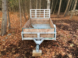 4x6 galvanized trailer like new for sale