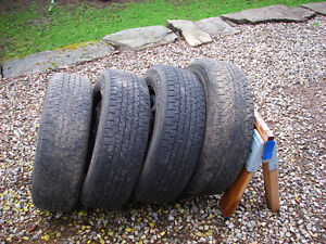 4-P195/65R15 FIRESTONE AFFINITY M&S WITH RIMS