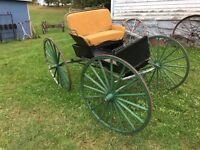 Old horse buggy
