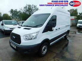 FORD TRANSIT 2.2TDCi 100PS RWD T350 L3H3 LWB NEW SHAPE TRANSIT SAME DAY FINANCE