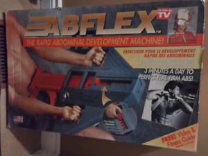 AbFlex  ab machine, brand new condition