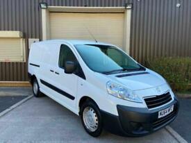 (64) 2014 Peugoet Expert 1200 1.6 HDi 90 H1 Van No VAT White Manual Low Miles