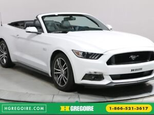 2017 Ford Mustang CONVERTIBLE GT PREMIUM AUTO CUIR NAVIGATION CA