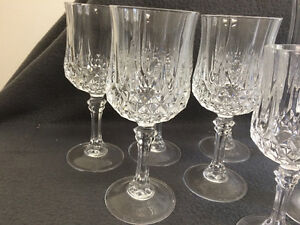 Collectible Antique Large Lot of Crystal Stemware London Ontario image 3