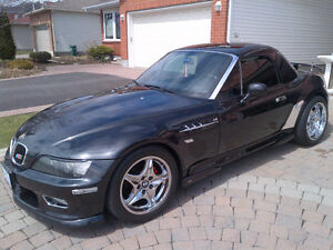 2000 COSMO BLACK BMW Z3 2.5L ROADSTER SUPERCHARGED //M