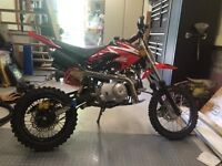 Dirt bike 110cc chinois!