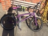 Purple mongoose bmx for sale fitted new chain 47 ovno