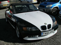 Convertible BMW Z3- a very unique look that really makes the car stand out