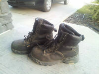 Steel Toe Size 9.5 Work Boots