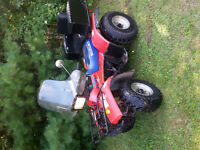 I have a suzuki 250 shaft drive for sale runs real good