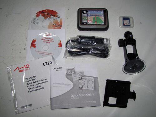 DACIA LOGAN Dispositivo di navigazione MIO C 220 Navigatore Europa Occidentale