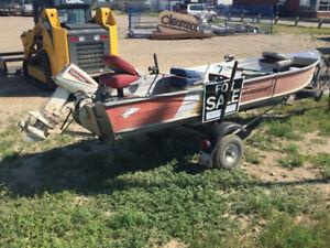 14' aluminium boat