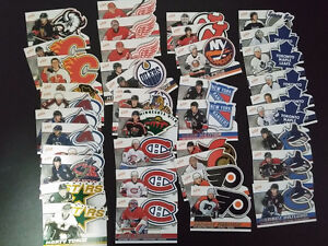 Lot de 40x cartes de hockey  McDonald Pacific atomic 2004