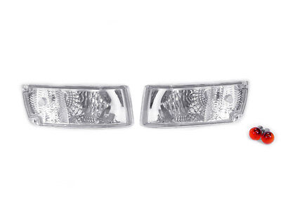 DEPO Clear Bumper Signal Lights FIT FOR 90 91 92 93 94 95 96 Nissan 300ZX Z Z32
