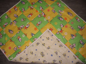 New Cow Print Quilt