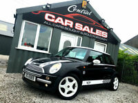MINI COOPER 1.6 STUNNING HEADTURNING EXAMPLE PART EXCHANGE FINANCE AVALIABLE